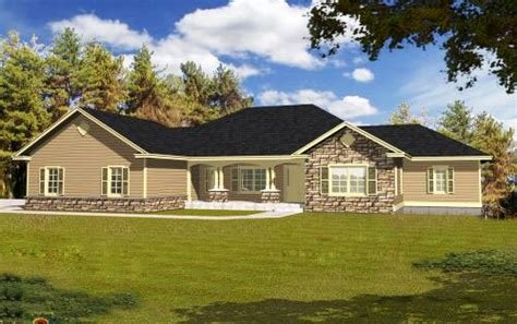 Best Ranch House Plan 4 Bedrooms 4 Bath 3162 Sq Ft Plan 31 127 With Pictures