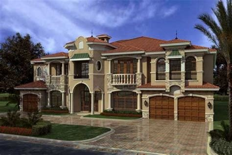 Best Italian House Plan 7 Bedrooms 8 Bath 7883 Sq Ft Plan With Pictures