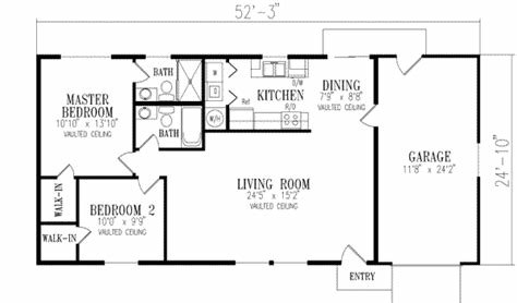 Best Southwestern House Plan 2 Bedrooms 2 Bath 1000 Sq Ft With Pictures