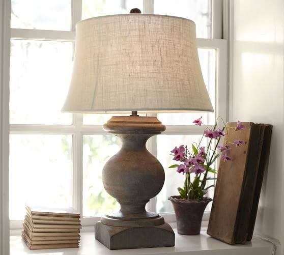 Best Baluster Table Lamp Pottery Barn With Pictures