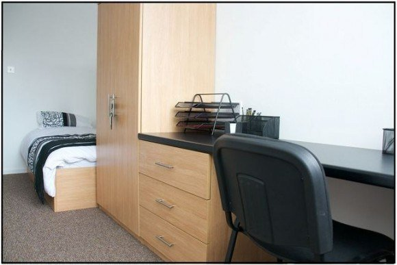 Best Double Bedroom Private Halls Student Accommodation With Pictures