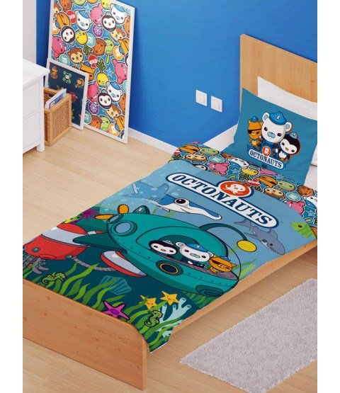Best Octonauts Mission Single Duvet Cover And Pillowcase Set With Pictures