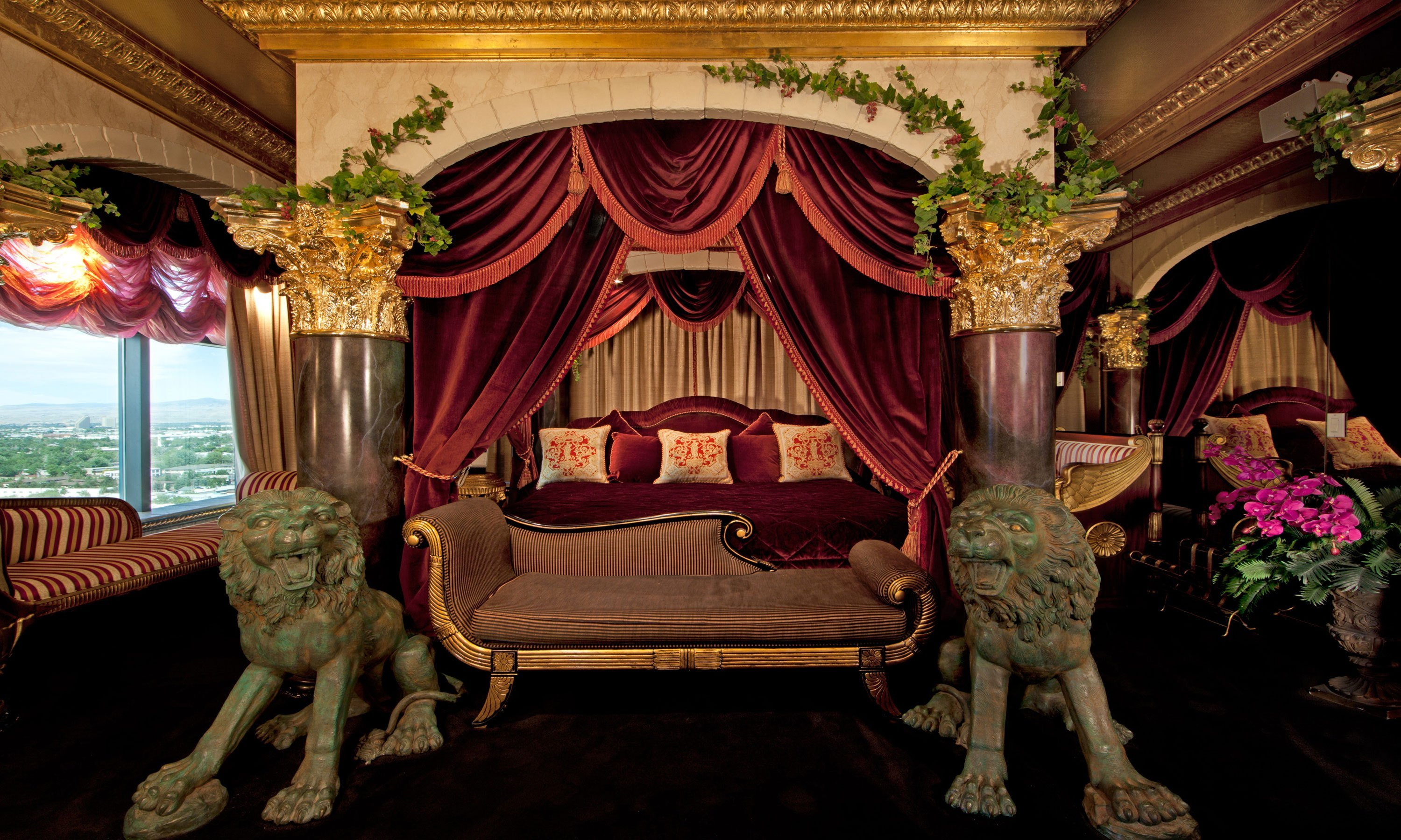 Best Peppermill Tower Roman Opulence Super Suite Peppermill With Pictures