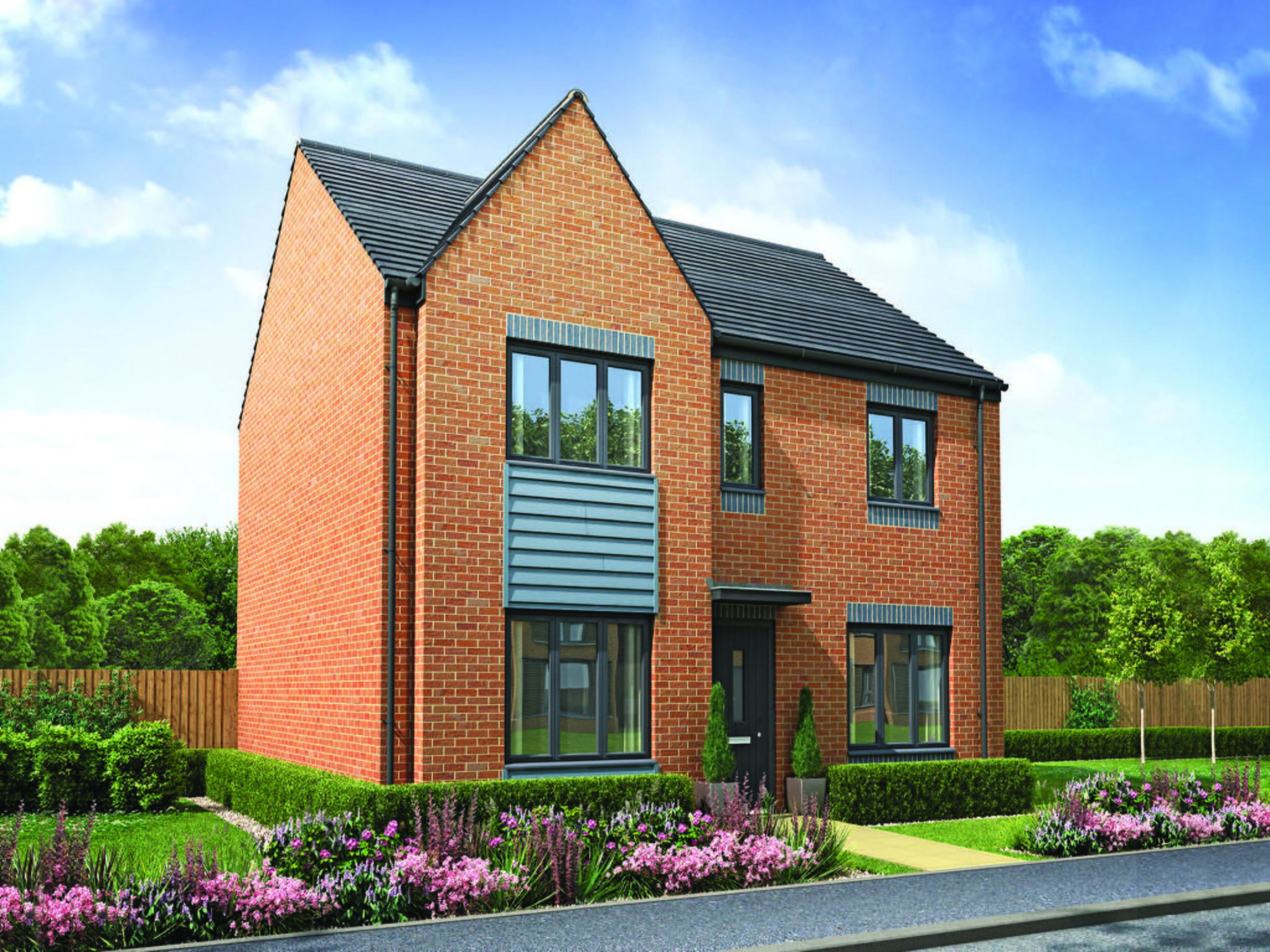 Best 4 Bedroom Detached House For Sale In Telford Shropshire Tf3 5Hl Plot 1 With Pictures