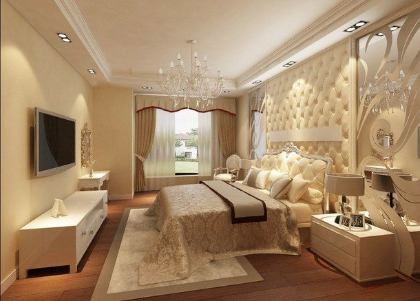 Best European Style Small Apartment Decorated Bedroom Ceiling With Pictures