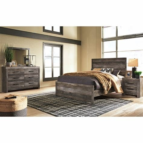 Best Rent Signature Design By Ashley Wynnlow 5 Piece Queen With Pictures