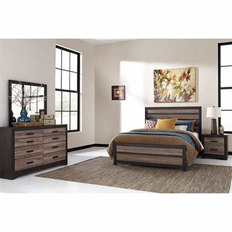 Best Rent Signature Design By Ashley Harlinton 6 Piece Queen With Pictures
