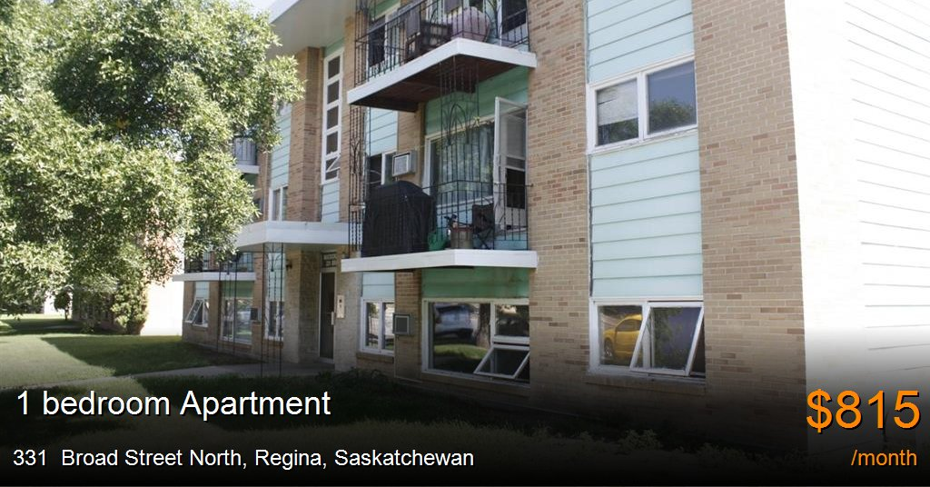 Best 331 Broad Street North Regina Apartment For Rent B26382 With Pictures