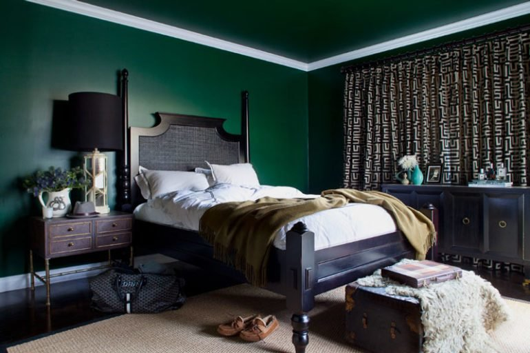 Best Green Bedroom Ideas From Light Green To Dark Green With Pictures