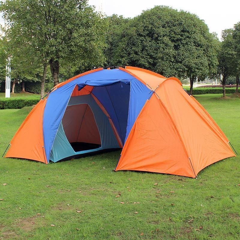 Best Outdoor Camping Tent Tourist Big Two Bedrooms 4 Season 4 Person Tents Travel Large Family With Pictures