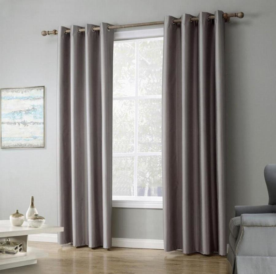 Best 1 Piece Solid Color Window Curtains For Living Room Bedroom Blackout Curtains Drapes With With Pictures