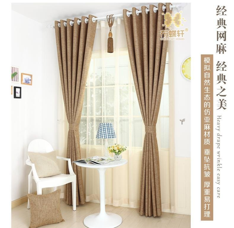 Best Full Blackout Curtain Fabrics Bedroom Linen Ready Made With Pictures