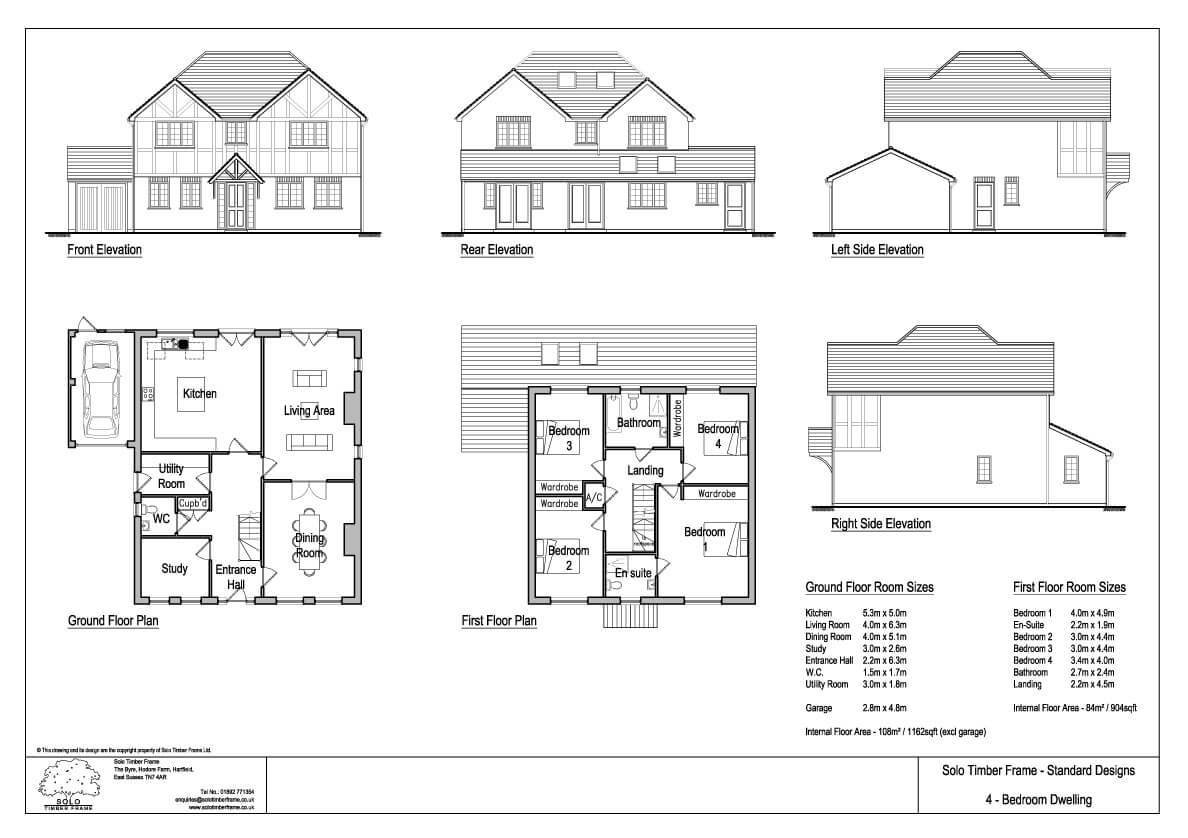 Best Kingstanding 4 Bedroom House Design Designs Solo With Pictures