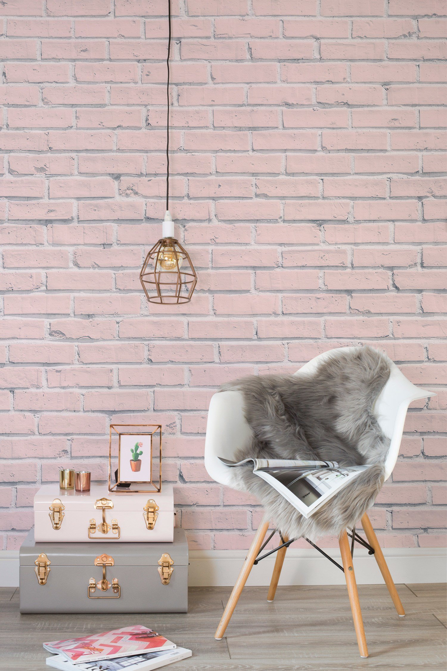 Best Pink Fur Wallpaper For Bedrooms ·① Wallpapertag With Pictures