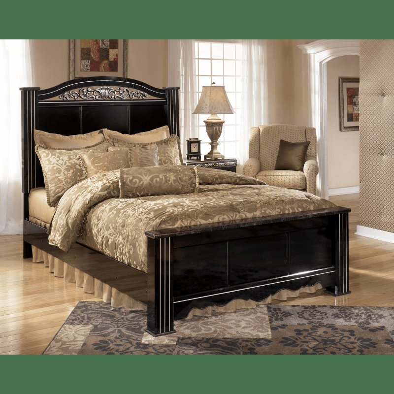 Best Constellations Poster 4Pc Bedroom Set By Signature Design With Pictures