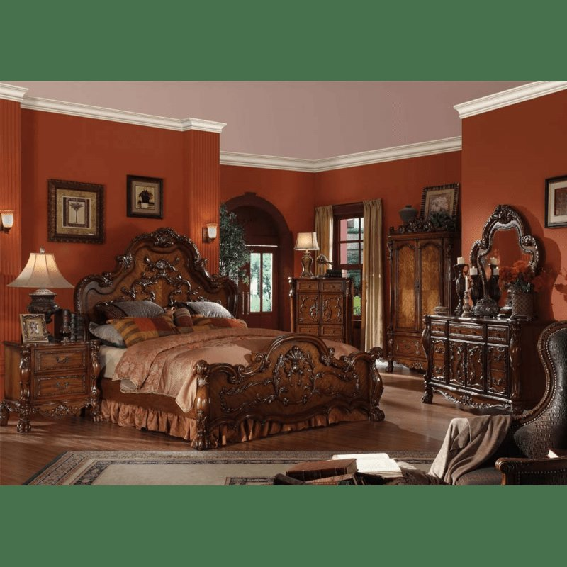 Best Vendome Gold 4Pc Bedroom Set With Pictures