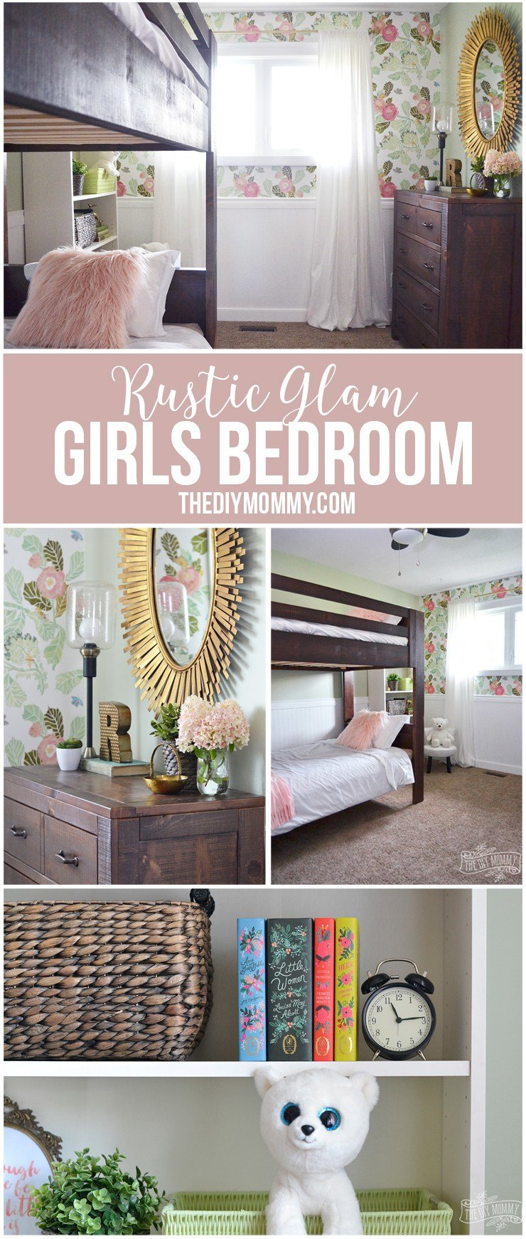 Best A Rustic Glam Double Kids' Bedroom Reveal With Pictures