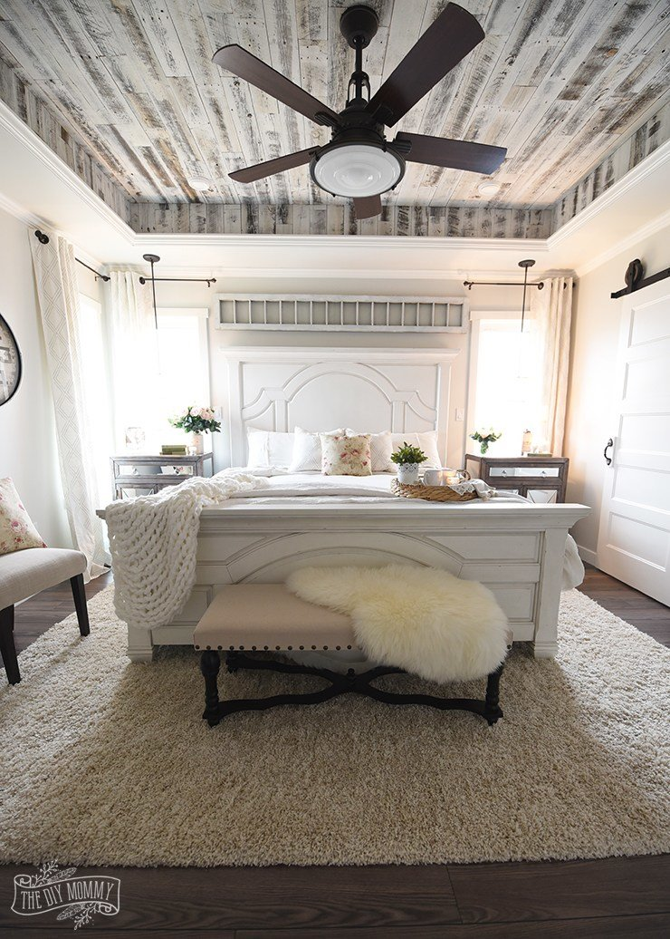 Best Our Modern French Country Master Bedroom – One Room With Pictures