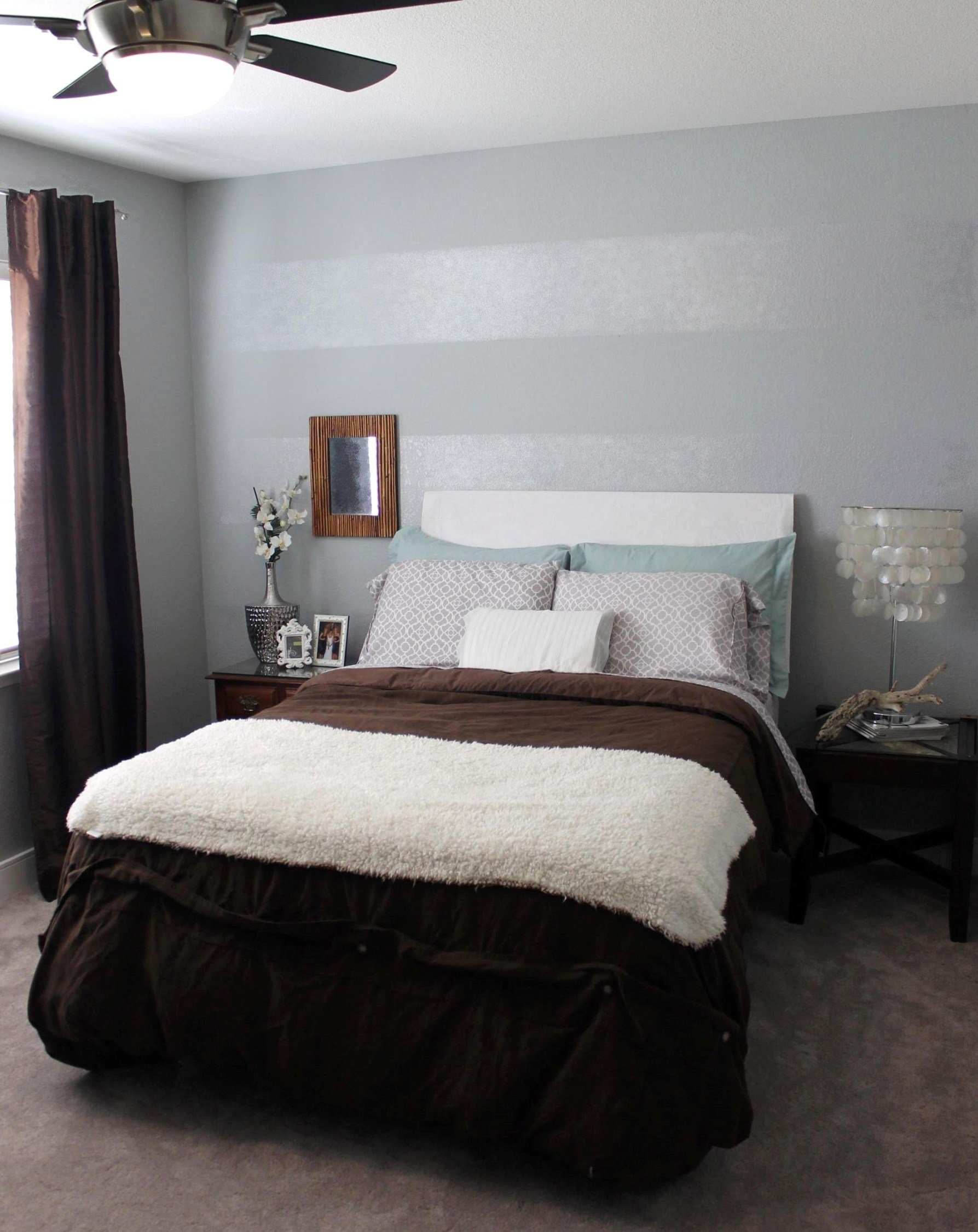 Best Tone On Tone Striped Accent Wall Mrs The Misc With Pictures