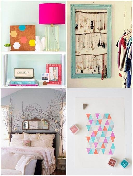 Best Diy Decoration For Bedroom Theradmommy Com With Pictures