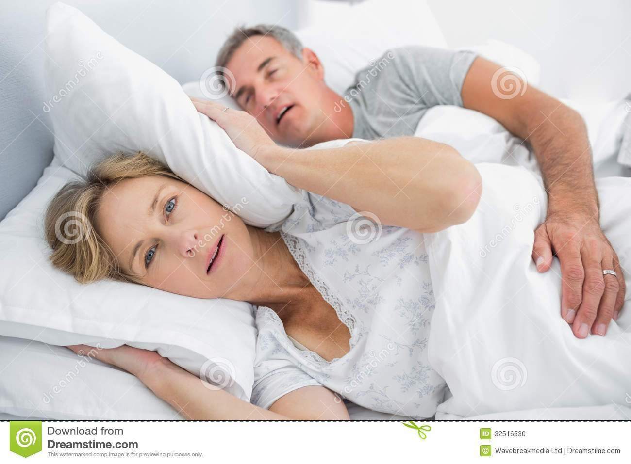 Best Irritated Wife Blocking Her Ears From Noise Of Husband With Pictures
