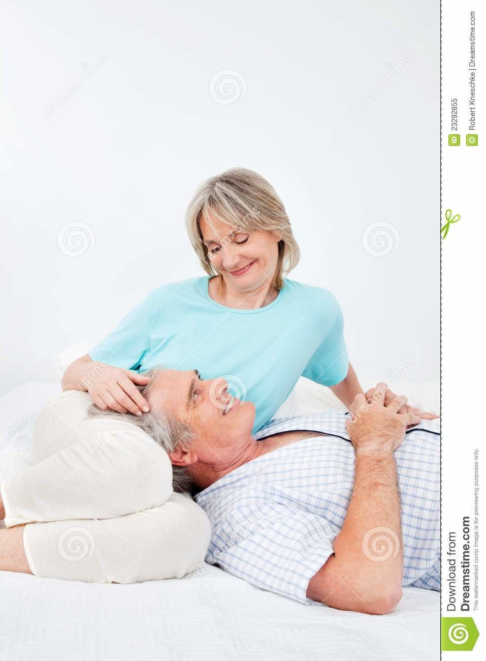 Best Senior Man And Woman In Bedroom Royalty Free Stock Photo With Pictures