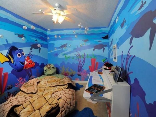 Best 10 Awesome Disney Inspired Kids Rooms Neatorama With Pictures