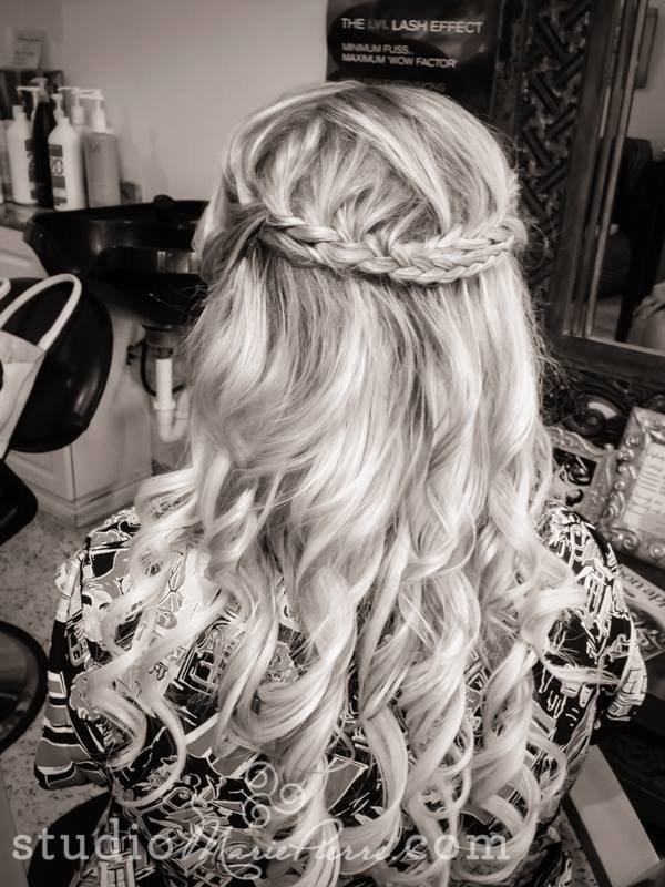 Free Creative And Elegant Wedding Hairstyles For Long Hair Wallpaper