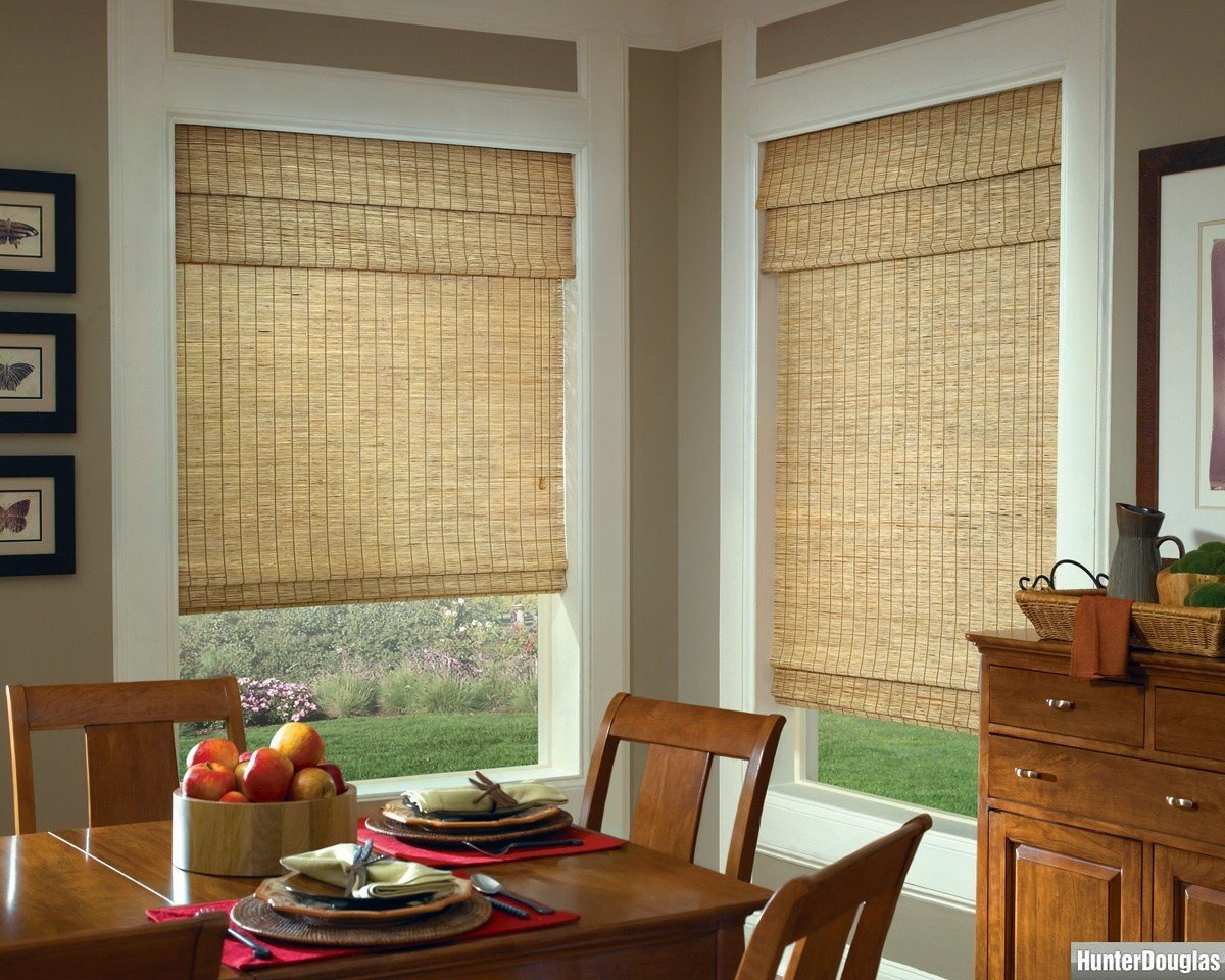 Best Decorating Classic Windows Blind Decor Ideas With Home Depot Bamboo Blinds — Michaelplater Com With Pictures