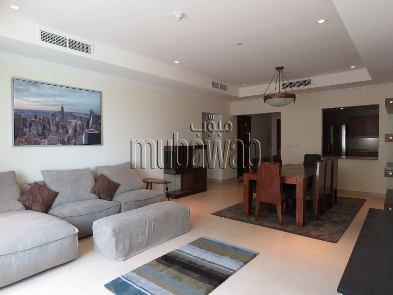 Best 1 Bedroom Apartment For Rent The Pearl Qatar Mubawab With Pictures Original 1024 x 768