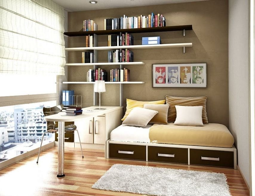 Best 14 Smart Home Office In Bedroom Design Ideas With Pictures
