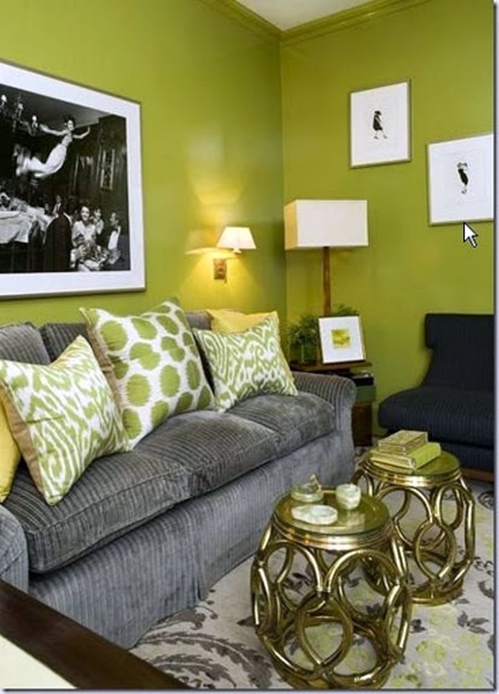 Best 18 Lovely Grey And Green Living Room Ideas With Pictures