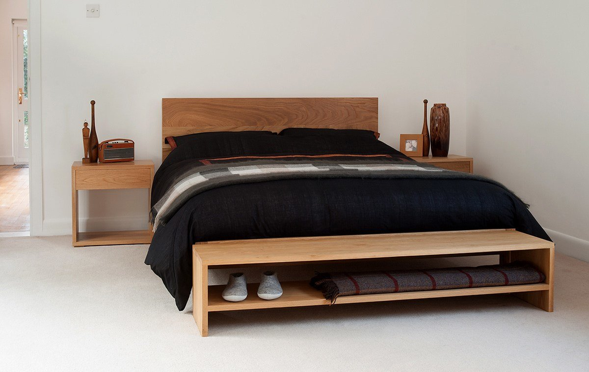 Best End Of Bed Bench Bedroom Storage Natural Bed Company With Pictures