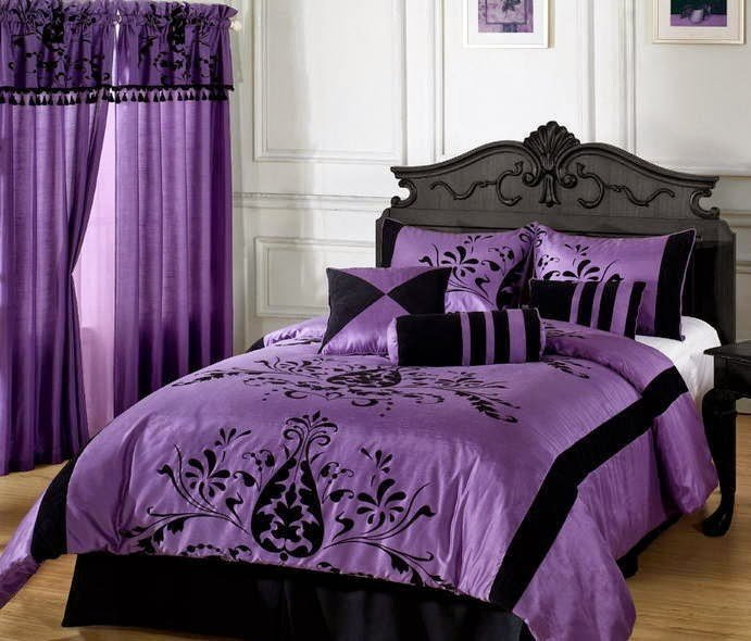 Best Purple And Grey Bedroom Bedroom Color Schemes With Gray With Pictures
