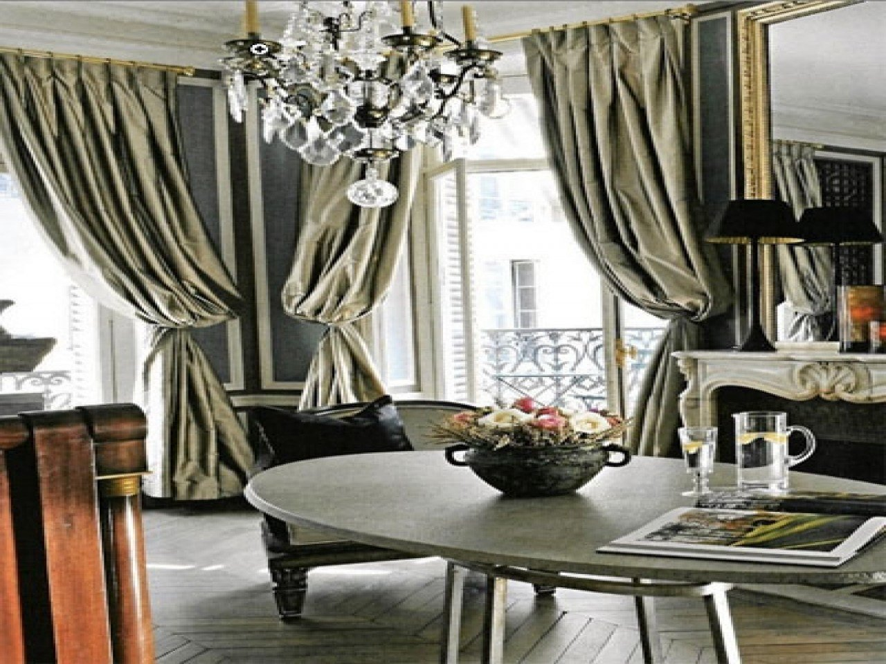 Best Glamorous Curtains Gold And Gray Bedroom Gray And Gold With Pictures