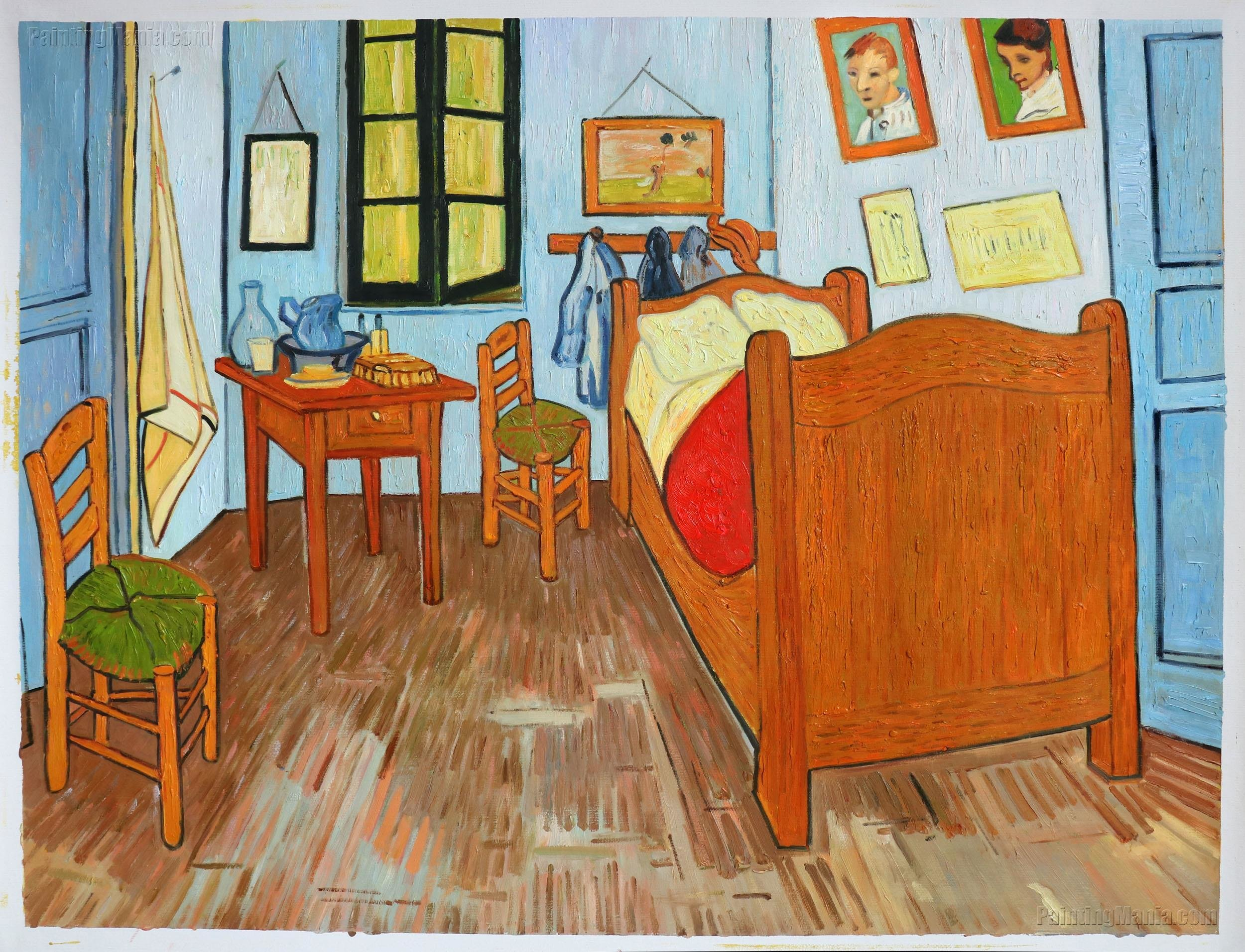 Best Vincent S Bedroom In Arles Vincent Van Gogh Paintings With Pictures