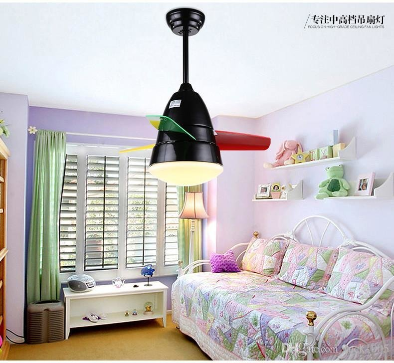 Best White Childrens Room Bedroom Ceiling Fan Light Inch With Pictures