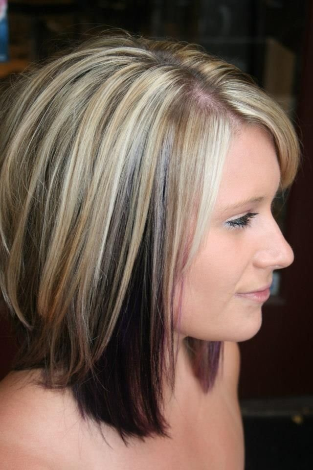 Free 10 Two Tone Hairstyles You Must Love Pretty Designs Wallpaper
