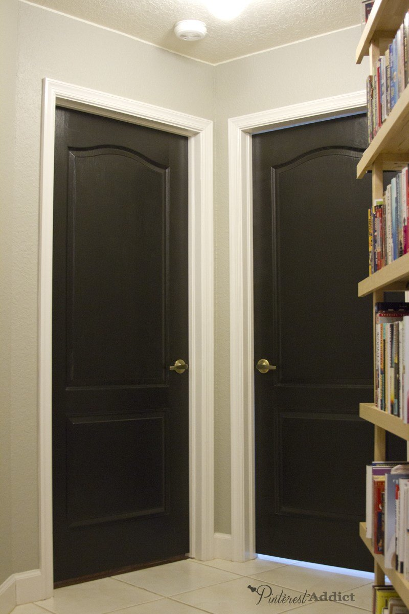 Best Painting The Interior Doors Black With Pictures