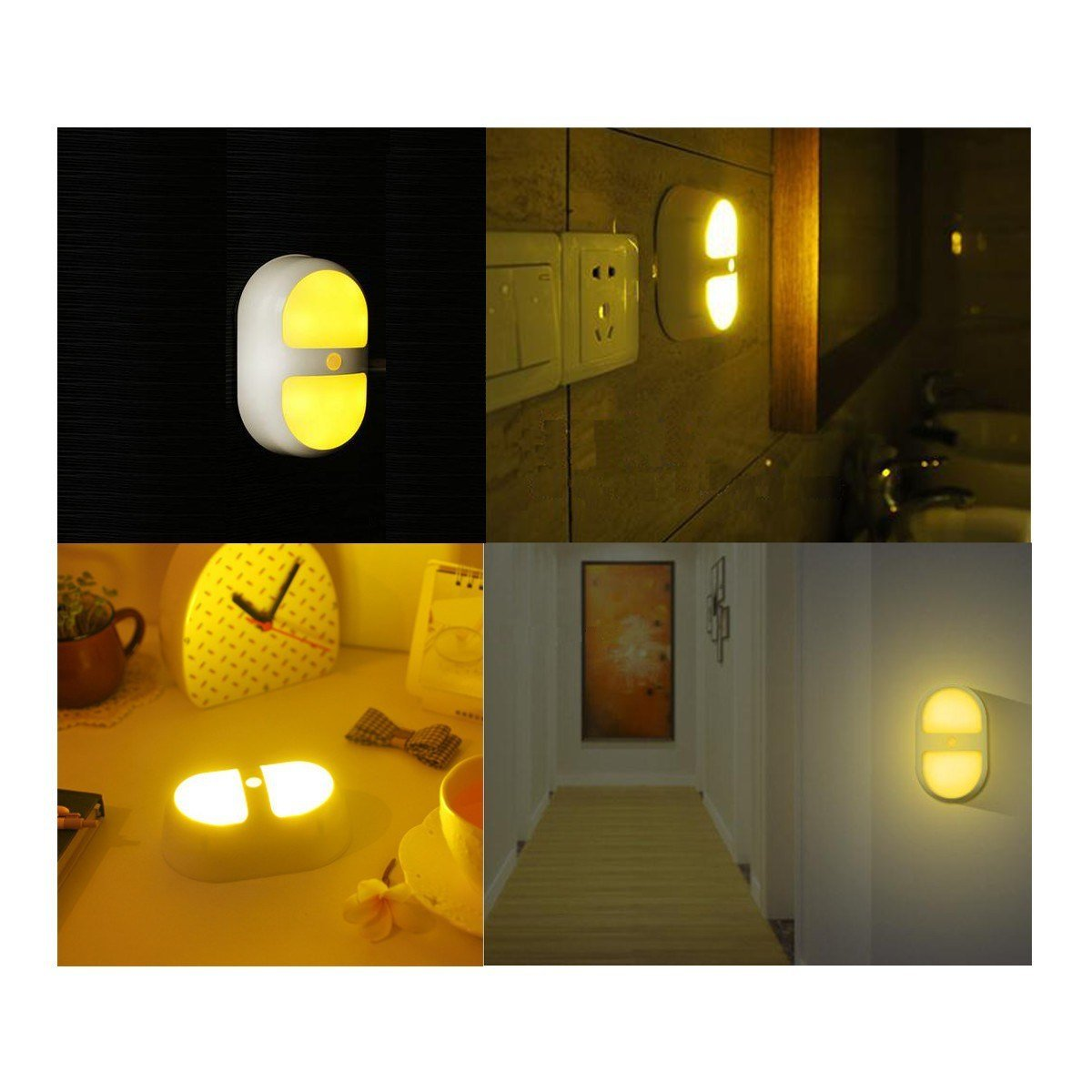 Best Sensor Night Light Wireless Led Human Motion Lamp Ceiling With Pictures