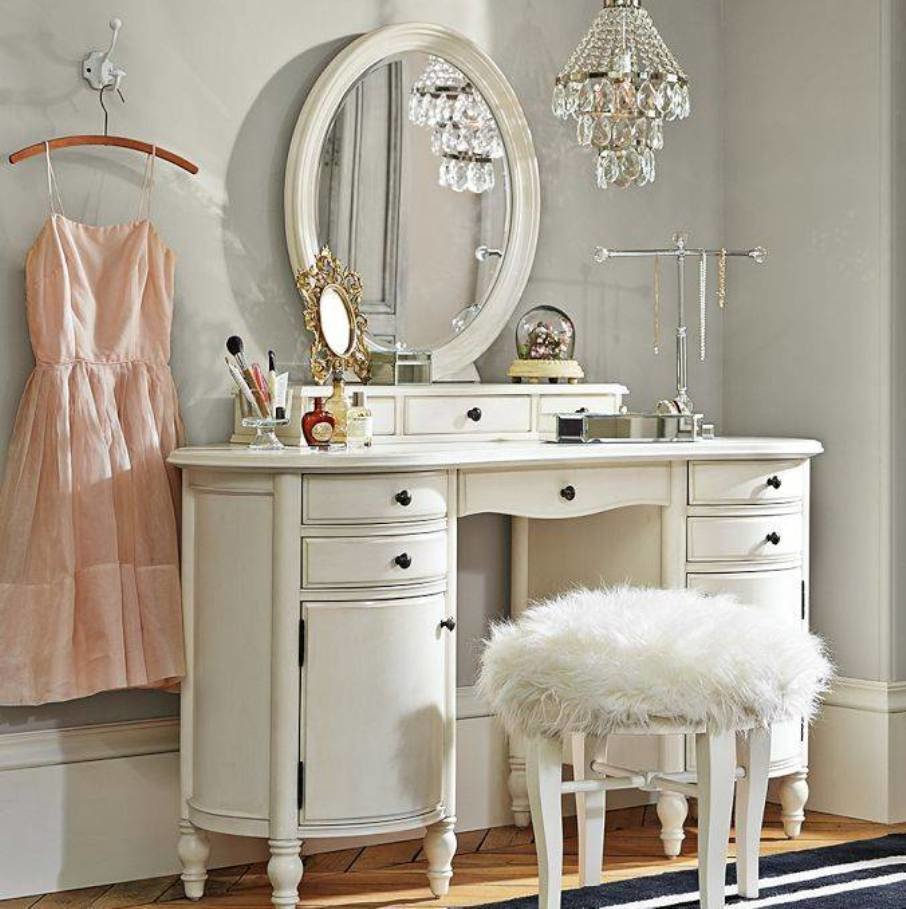 Best Vanity Set With Mirror And Stool Bedroom Vanity Sets With With Pictures
