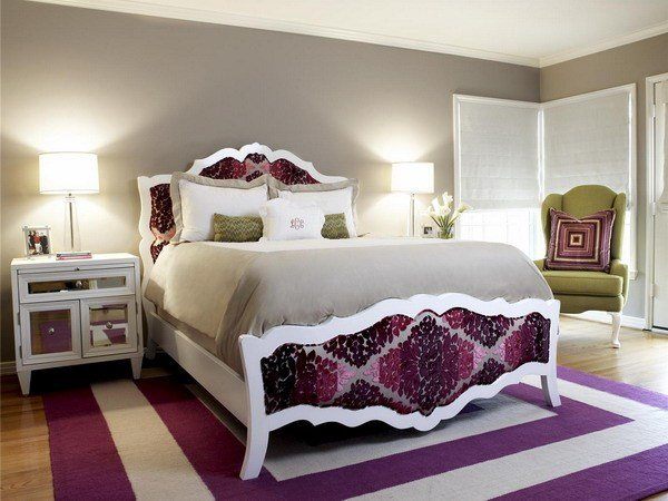 Best 19 Purple And White Bedroom Combination Ideas With Pictures