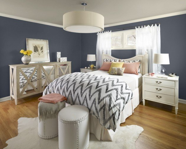 Best 20 Marvelous Navy Blue Bedroom Ideas With Pictures