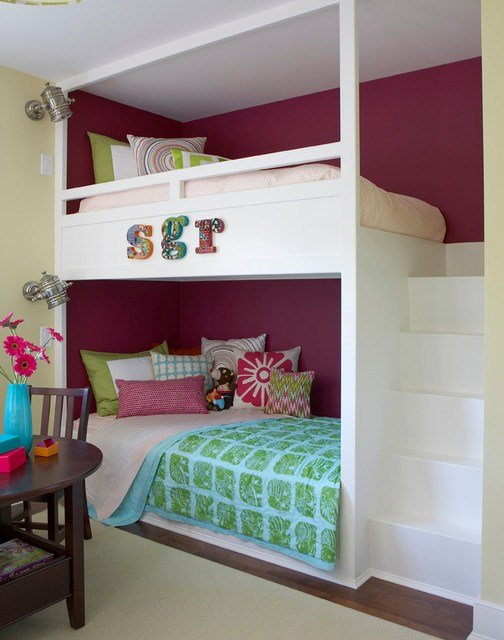 Best 27 Fantastic Built In Bunk Bed Ideas For Kids Room From A With Pictures