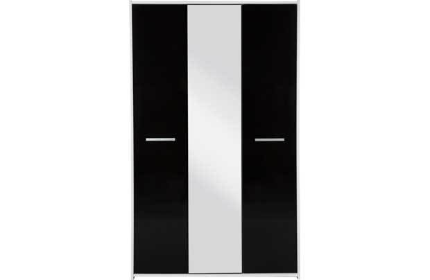 Best New Sywell 3 Door Wardrobe Black And White Bedroom And With Pictures
