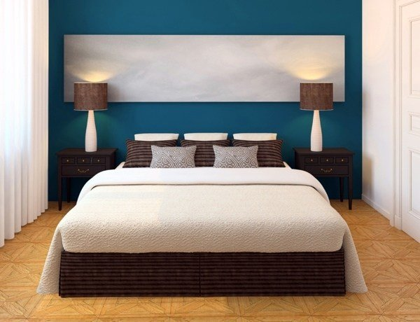 Best Select Bedroom Wall Color And Make A Modern Feel With Pictures