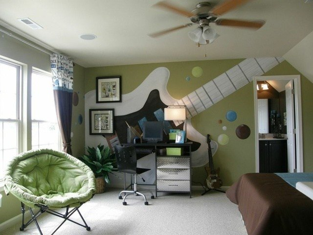 Best Decoration Chambre Ado Theme Musique With Pictures