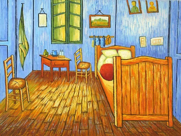 Best Van Goghs Bedroom In Arles Oil Paintings On Canvas With Pictures
