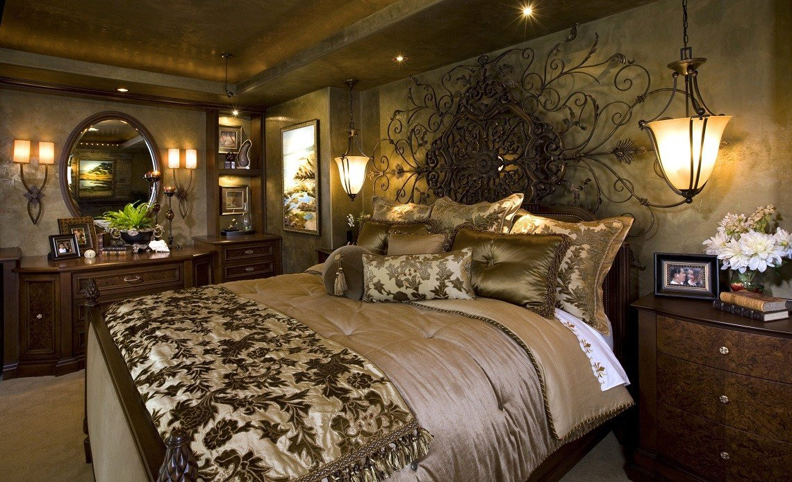 Best Mediterranean Home Master Bedroom Robeson Design With Pictures