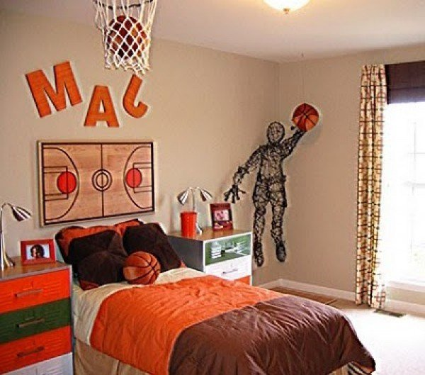 Best Basketball Room Decor Images Frompo 1 With Pictures